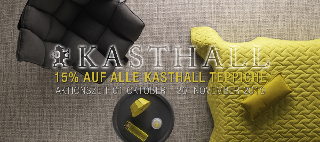 Kasthall: Herbstaktion 01. Oktober - 30. November 2019