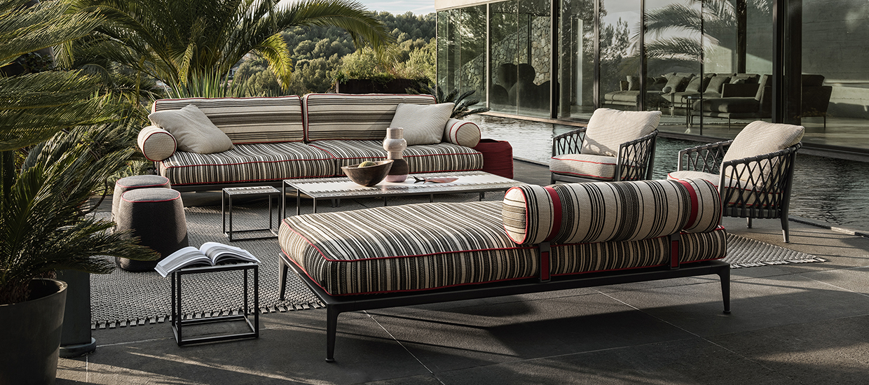 B&B Italia: Outdoor Sofa Ribes